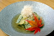 Kelp with herring roe (sushi type)